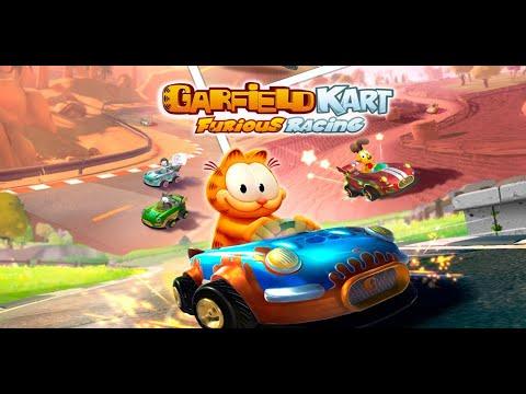 Garfield Kart : Furious Racing Gameplay |
