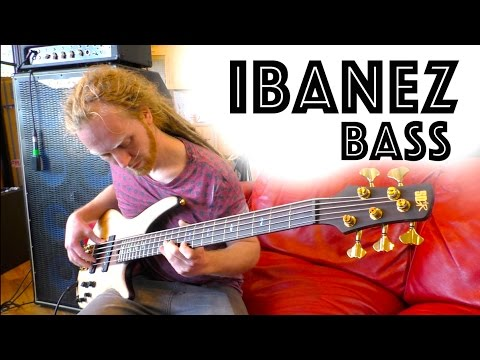 Ibanez SR1305 Premium Bass Demo - Make coffee it's a long video!