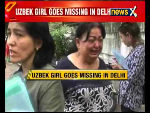 Uzbek girl goes missing in Delhi
