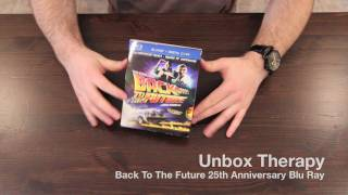 Back To The Future 25th Anniversary Blu Ray Unboxing & Overview + Macro Shots!
