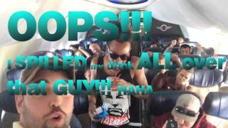 🍺 DRUNK ON A PLANE 3/23/16🍺  - 2 DRUNK Guys HIJACK a Southwest Airlines Flight!!!😱