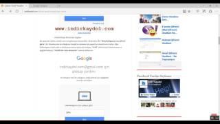 Çalınan Gmail Hesabını Geri Al (Yeni)