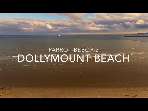 Parrot Drone over Dollymount Beach Dublin