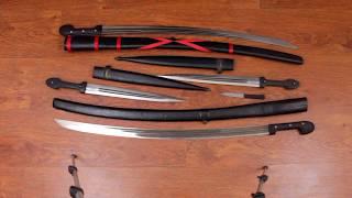 обзор двух комплектов кавказского оружия
