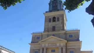 De tre större klockorna i Göteborgs domkyrka