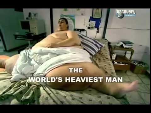 Самый толстый человек в Мире  весит 560 килограм