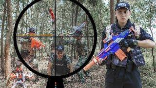 LTT Nerf War : SEAL X Warriors Nerf Guns With Doctor Fight Attack Criminal Group