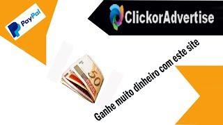 Site para ganhar dinheiro em 2019 PTC clickcorAdvertise
