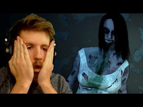 INFLICTION - Full Game - Spooky Ghost Woman Horror Game
