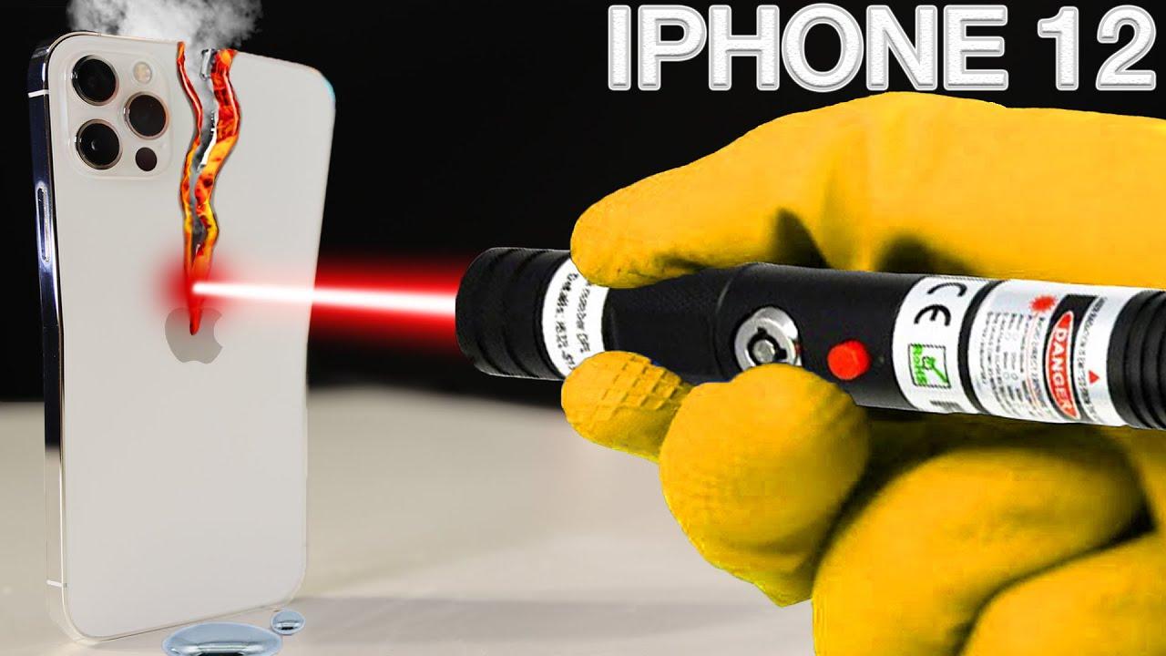 Download LASER VS IPHONE 12 PRO