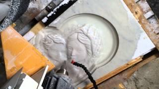 Вырезаем икону из мрамора(Все работы представлены на нашем сайте www.ikonorez.ru. Заходите, это интересно! На видео Вы видите как в нашей..., 2014-02-24T08:15:54.000Z)