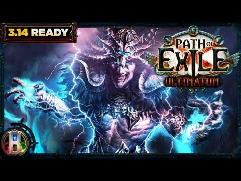 Path of Exile 3.14 -Arc Totem Build - Hierophant Templar - PoE Ultimatum - PoE 3.14