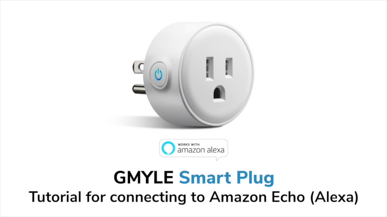 gmyle smart plug mini tutorial for connecting to smart life and amazon alexa youtube. Black Bedroom Furniture Sets. Home Design Ideas