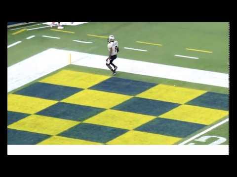 Adrian Killins 79-Yard TD Run at Navy (ft. TJ LSU Dad)