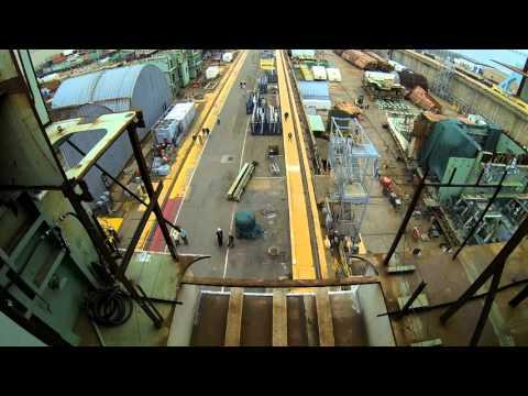 Newport News Shipbuilding  completes 965 ton CVN 79 super lift