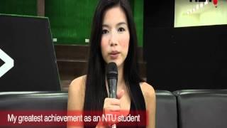 Rui En, Elvin Ng & Tay Ping Hui film latest blockbuster at NTU