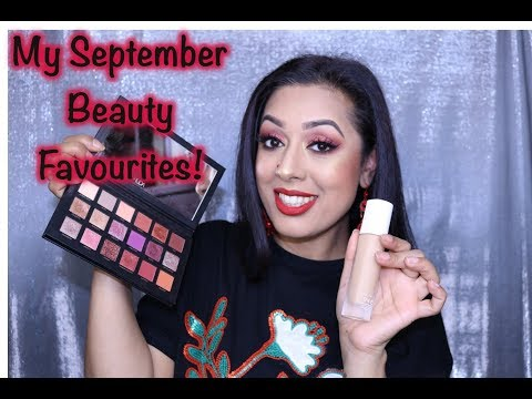 My September 2017 Beauty Favourites!