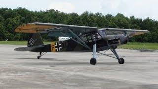 1937 Fieseler Fi 156 Storch Demo flown by Kermit Weeks thumbnail