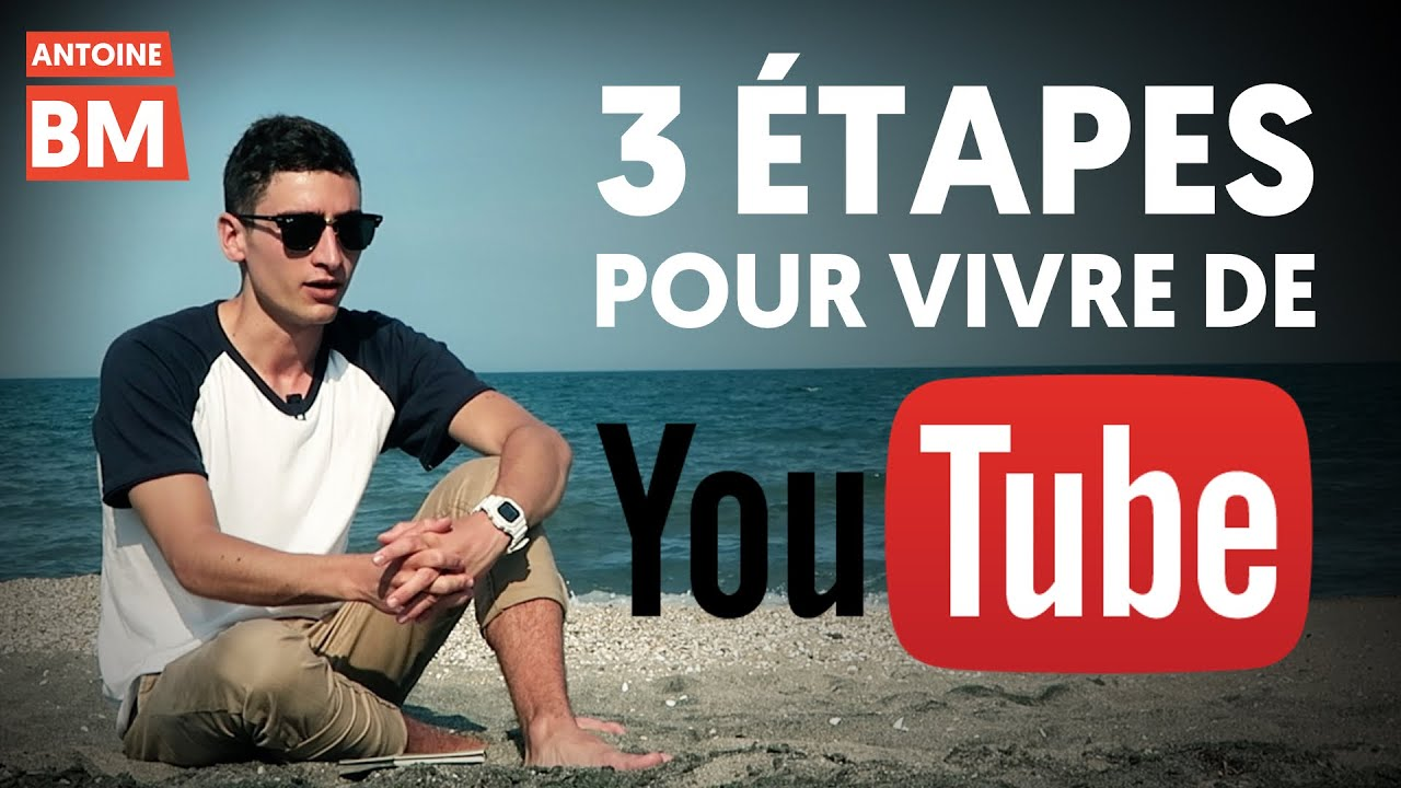 comment gagner sa vie sur youtube en 3 tapes youtube. Black Bedroom Furniture Sets. Home Design Ideas