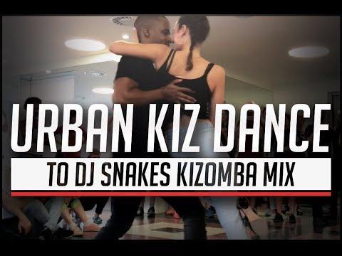 DJ Snakes Kizomba Mix / Marine & Mika Urban Kiz Dance  @ Barcelona Temptation Festival 2017