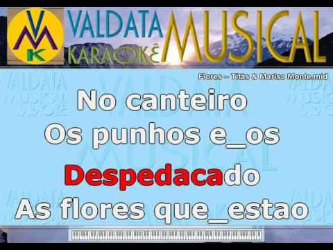 Flores – Titãs & Marisa Monte   Karaoke