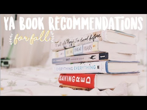 YA BOOK RECOMMENDATIONS // Books to read this Fall! 🍂