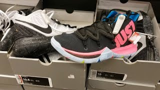 NIKE KYRIE 5 'OREO' & 'JUST DO IT' HAVE FLOODED THE NIKE COMMUNITY OUTLET