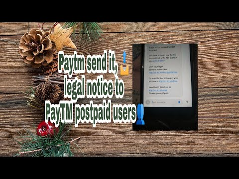 Repeat What is Paytm Postpaid?? What happens if Paytm