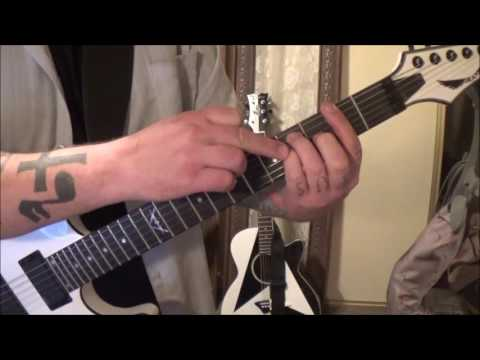Thin Lizzy - Cowboy Song - CVT Guitar Lesson by Mike Gross(part 1)