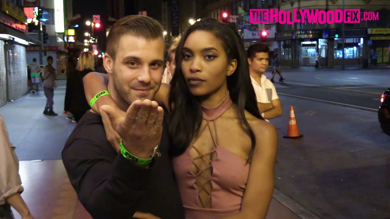 Paulie Calafiore  Zakiyah Everette Attend The Big Brother -5715