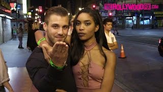 Paulie Calafiore & Zakiyah Everette Attend The Big Brother 18 Wrap Party At Clifton's 9.22.16