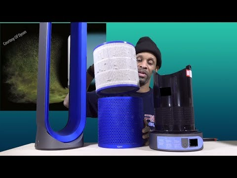 Dyson Air Purifier   How To Change The Filter