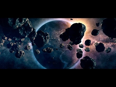 ✅ Earth. Space Scene in After Effects, Element 3D with breakdown