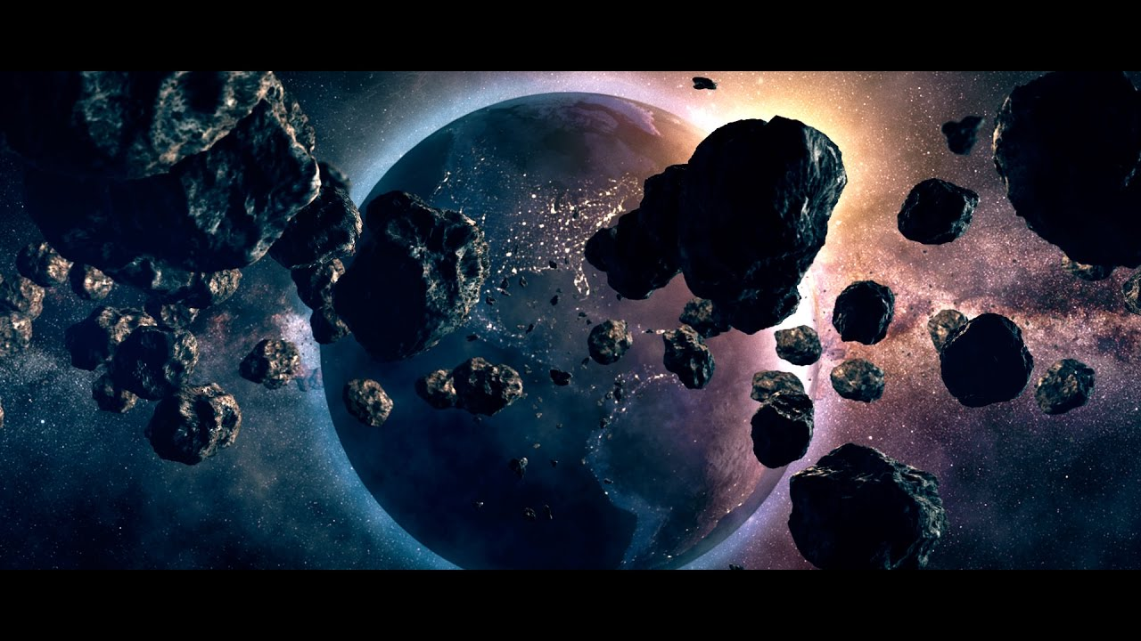 Wallpaper Effect 3d Earth Space Scene In After Effects Element 3d With
