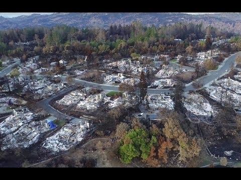 BREAKING California Wildfires NWO Agenda 2030 Lies Homes Destroyed Unburned trees standing 11/14/18