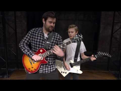 #SchoolOfRockUK: Guitar Battle
