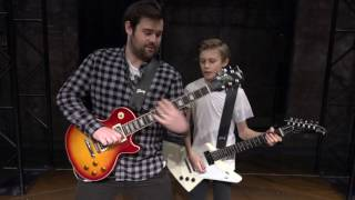 #SchoolOfRockUK: Guitar Battle