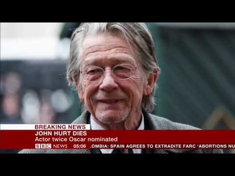 Sir John Hurt Dies at 77 (1940-2017)