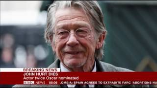 Sir John Hurt Dies at 77 (1940-2017)