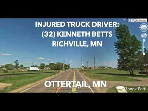 Potato Truck Driver Seriously Injured After Being Struck By Train In Ottertail
