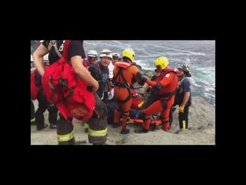 CHILEAN NAVY HELICOPTER RESCUE