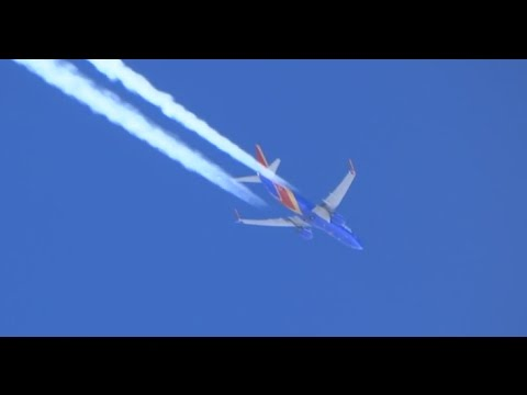 (HD) Racing Southwest Airlines Boeing 737s while Enroute to Los Angeles International Airport