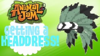 Animal Jam: GETTING A HEADDRESS!