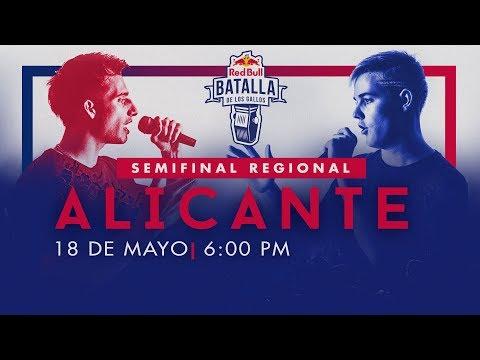 Semifinal Regional Alicante, España 2019   Red Bull Batalla de los Gallos
