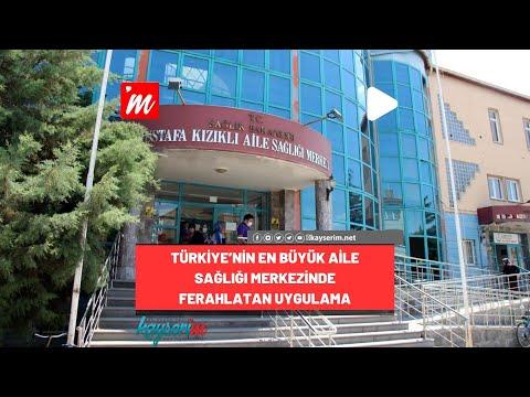 Türkiye'nin En Büyük Aile Sağlığı Merkezinde Ferahlatan Uygulama