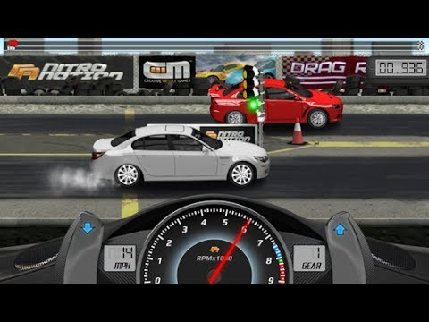 Drag Racing Game for iOS & Android GamePlay