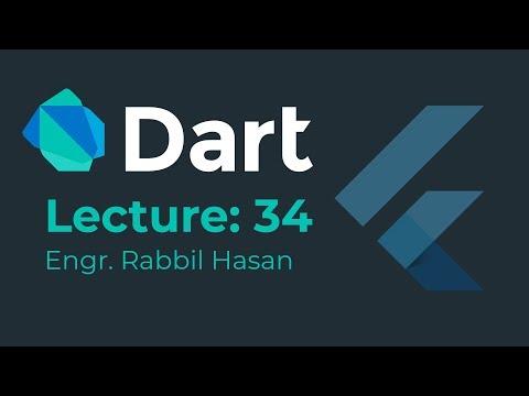 Dart Bangla Tutorial ! Part 34 Class Object |  Dart OOP thumbnail
