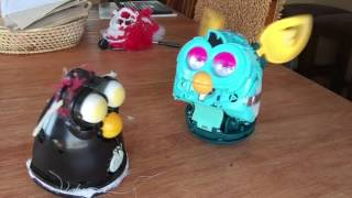 Old Furby VS New Furby WITHOUT FUR