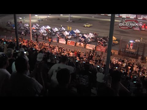 Highlights: World of Outlaws Sprint Cars Thunderbowl Raceway March 13th, 2015