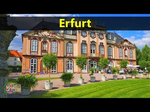 Best Tourist Attractions Places To Travel In Germany | Erfurt Destination Spot